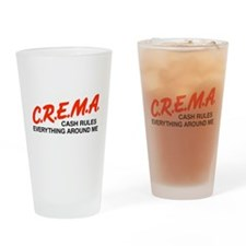 D.A.R.E STYLE TEE Drinking Glass
