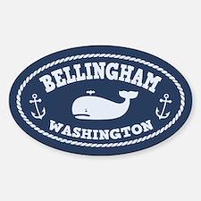 Bellingham Whale Sticker (Oval)