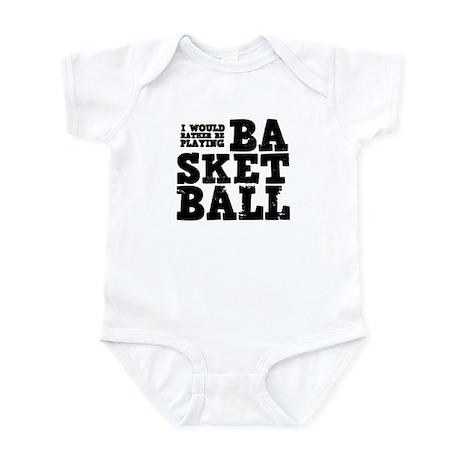 'Basketball' Infant Bodysuit