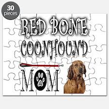 REDBONE COONHOUND MOM Puzzle