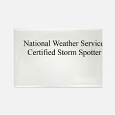 Storm Spotter Rectangle Magnet