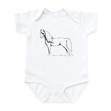 Unihevonen - Dream Horse Infant Bodysuit