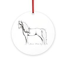 Unihevonen Koriste - Dream Horse Ornament (Round)
