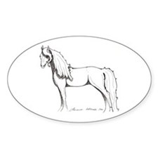 Unihevonen - Dream Horse Oval Decal