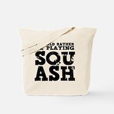 'Playing Squash' Tote Bag