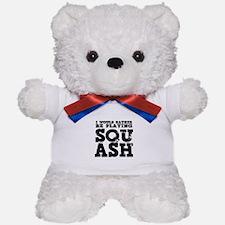 'Playing Squash' Teddy Bear