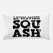 'Playing Squash' Pillow Case