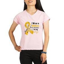 Hero Childhood Cancer Performance Dry T-Shirt