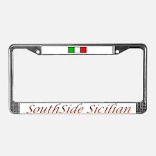SouthSide Sicilian License Plate Frame