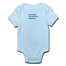 Cute You can read Infant Bodysuit