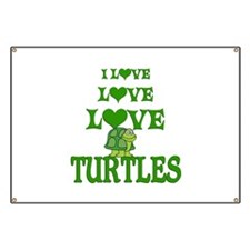Love Love Turtles Banner