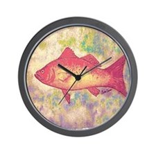 I Love Fish Wall Clock