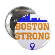 "Boston Strong Ribbon Design 2.25"" Button (100 pack"