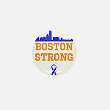 Boston Strong Ribbon Design Mini Button (10 pack)