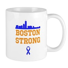 Boston Strong Ribbon Design Mug