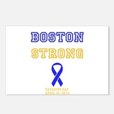 Boston Strong Ribbon Design Postcards (Package of