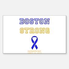 Boston Strong Ribbon Design Decal