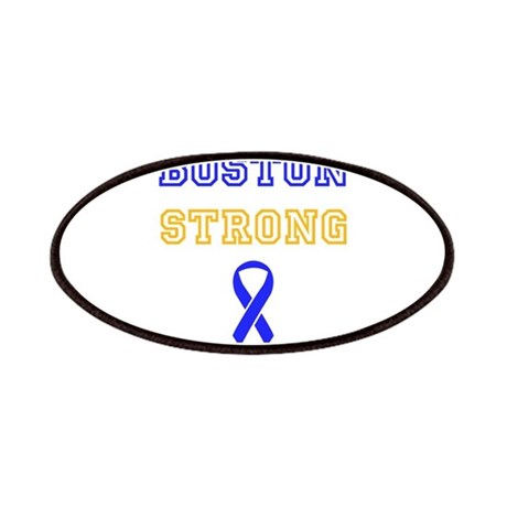 Boston Strong Ribbon Design Patches