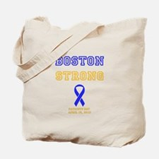 Boston Strong Ribbon Design Tote Bag