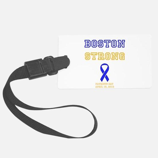 Boston Strong Ribbon Design Luggage Tag