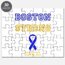Boston Strong Ribbon Design Puzzle