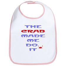 Blame the Crab Bib