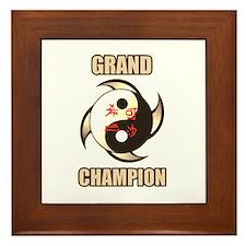 Grand Championc Gold-Framed Tile