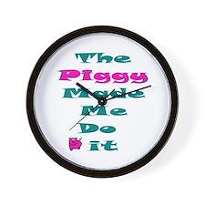 Blame the Piggy Wall Clock