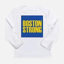 Boston Strong mug Long Sleeve Infant T-Shirt