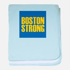 Boston Strong mug baby blanket