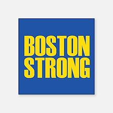 "Boston Strong mug Square Sticker 3"" x 3"""
