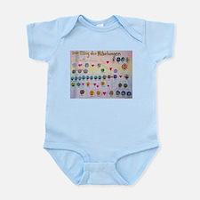 Der Ring des Nibelungen Family Tree Infant Bodysui