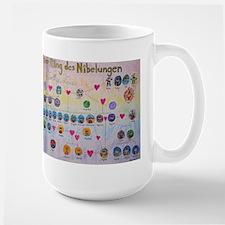 Der Ring des Nibelungen Family Tree Coffee Mug