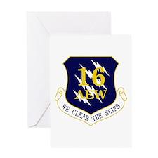 16th AEW Greeting Card