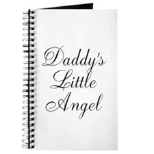 Daddys Little Angel Black Script Journal