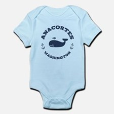 Anacortes Whaling Infant Bodysuit