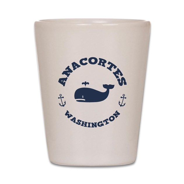 Anacortes Whaling Shot Glass By Suevanears