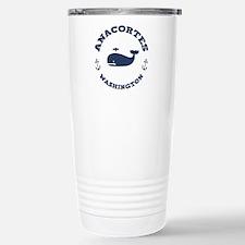 Anacortes Whaling Stainless Steel Travel Mug