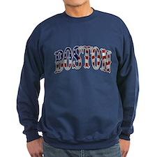 Boston Strong - US Flag Sweatshirt