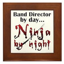 Band Director Ninja Framed Tile