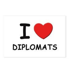 I love diplomats Postcards (Package of 8)
