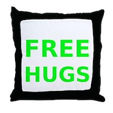 Free Hugs Throw Pillow