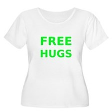 Free Hugs Plus Size T-Shirt