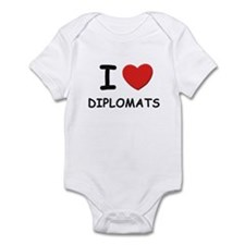 I love diplomats Infant Bodysuit