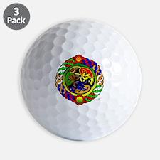 Celtic Dogs Golf Ball