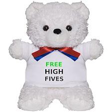 Free High Fives Teddy Bear