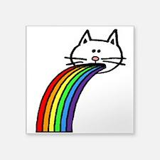 Rainbow Cat (large) Sticker