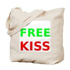 Free Kiss Tote Bag