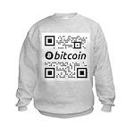 We use coins BW Sweatshirt