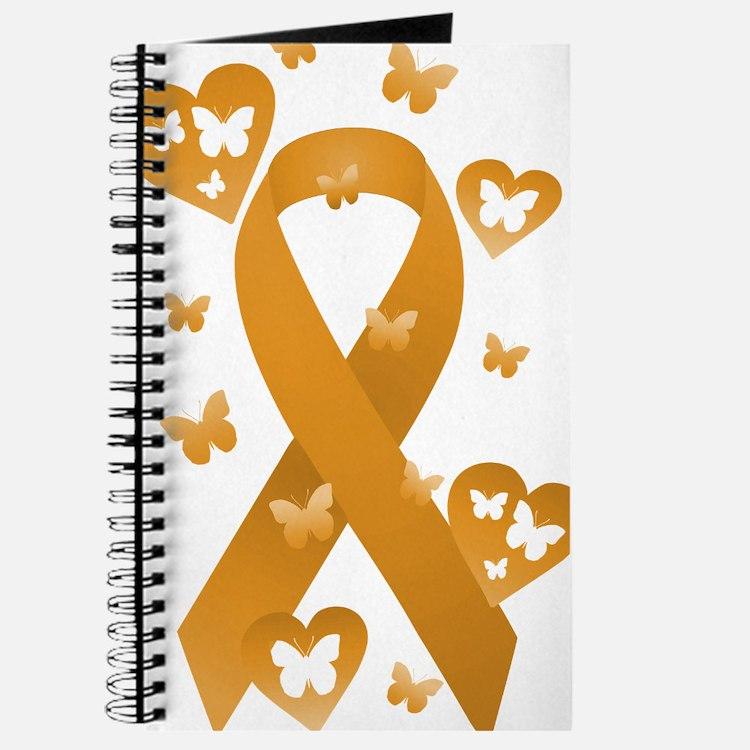 Orange Awareness Ribbon Journal